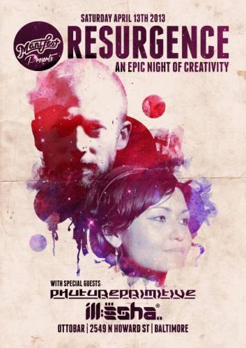 RESURGENCE: Phutureprimitive & ill-esha @ Ottobar