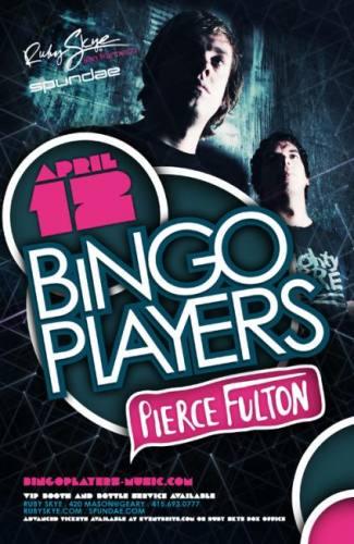 Bingo Players @ Ruby Skye
