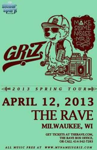 GriZ @ The Rave/Eagles Club