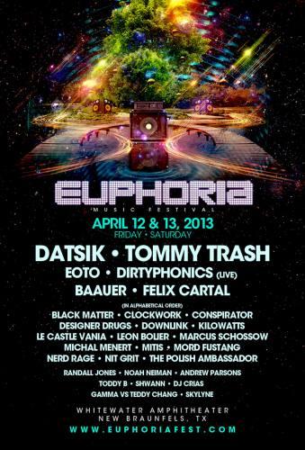 Euphoria Music Festival 2013