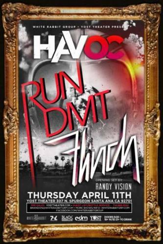 Run DMT & Flinch @ Yost Theater