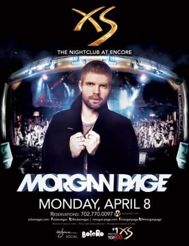 Morgan Page @ XS Las Vegas (04-08-2013)