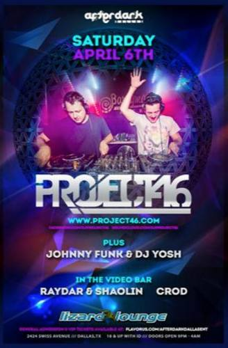 Project 46 @ The Lizard Lounge
