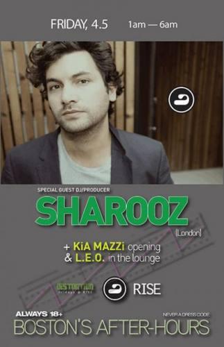 Sharooz @ RISE