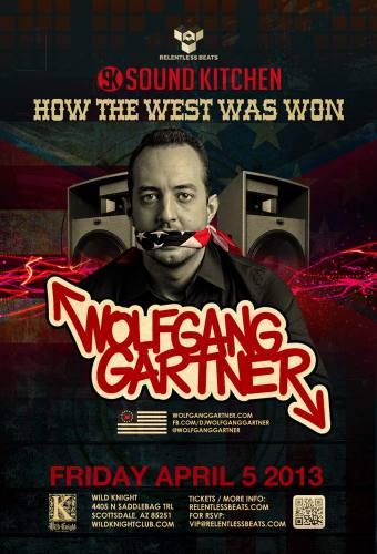 Wolfgang Gartner @ Wild Knight (04-05-2013)