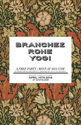 FREE PARTY ft Branchez + Rone