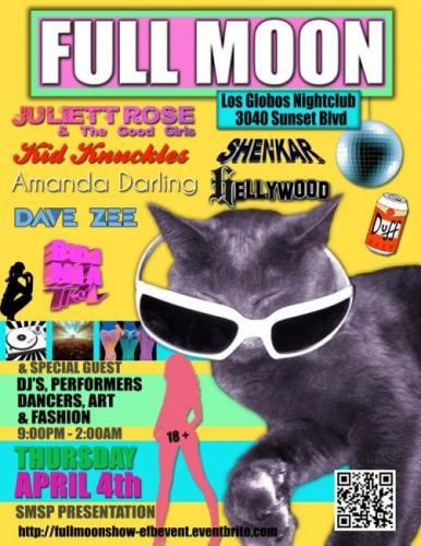 FullMoon EDM night@ Los Globos