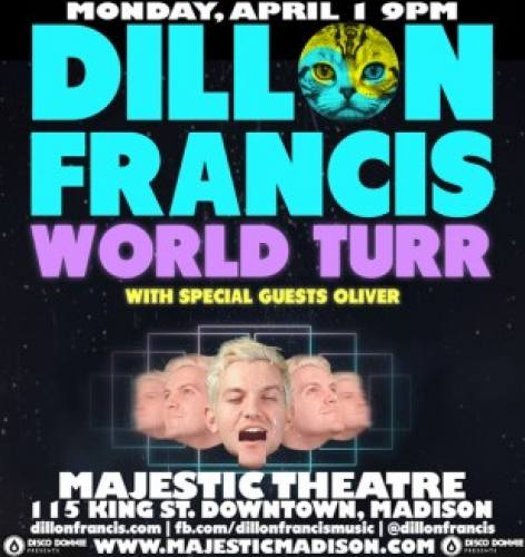 Dillon Francis @ Majestic Theatre