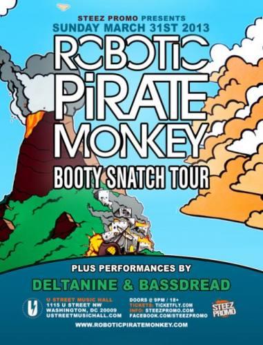 Robotic Pirate Monkey @ U Street Music Hall