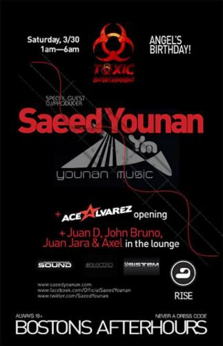 Saeed Younan @ RISE