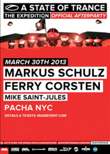 Markus Schulz & Ferry Corsten @ Pacha NYC