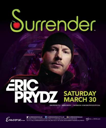 Eric Prydz @ Surrender Nightclub (03-30-2013)