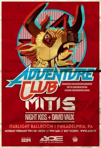 Adventure Club @ Starlight Ballroom (03-29-2013)