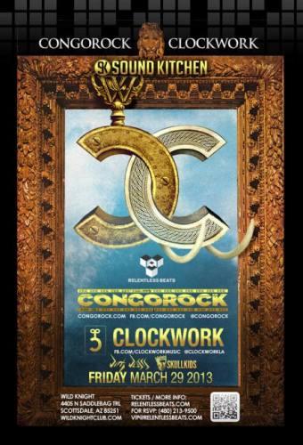 Congorock & Clockwork @ Wild Knight