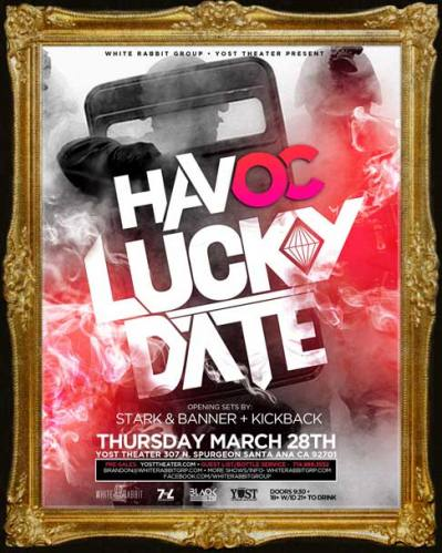 Lucky Date @ Yost Theater