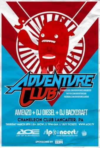 Adventure Club @ Chameleon Club (03-28-2013)