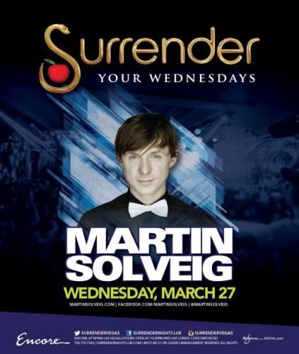 Martin Solveig @ Surrender Nightclub