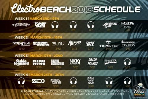 Electro Beach: Spring Break 2013 (Week Four) [Puerto Vallarta, Mexico]