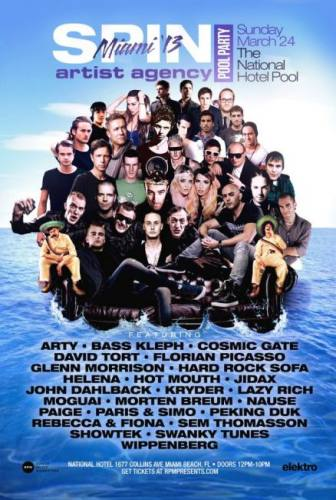 Cosmic Gate, Arty, & more @ National Hotel
