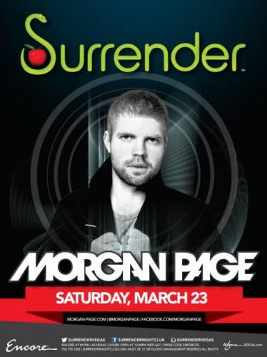 Morgan Page @ Surrender Nightclub