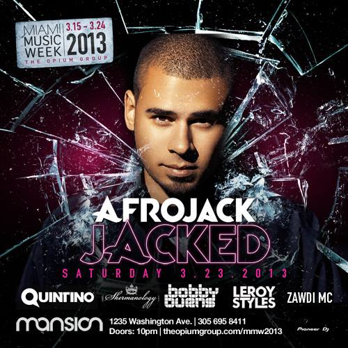 Afrojack @ Mansion (03-23-2013)