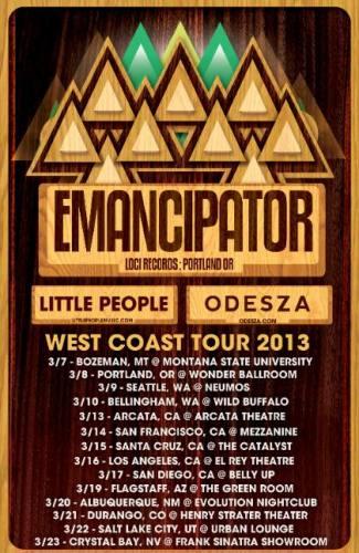 Emancipator, Little People, Odezsza @ Tahoe Biltmore