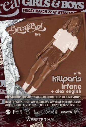 Breakbot w/ Kill Paris @ Webster Hall