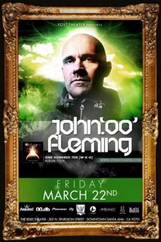 John 00 Fleming @ Yost Theater