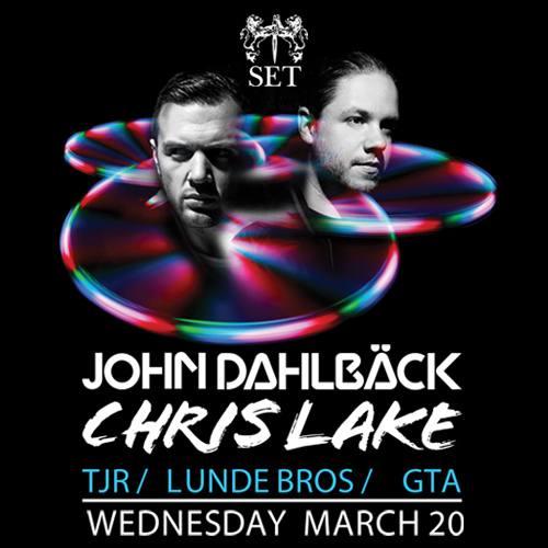 John Dahlback & Chris Lake @ SET