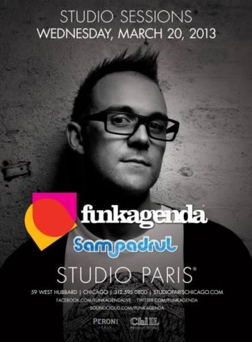 Funkagenda @ Studio Paris