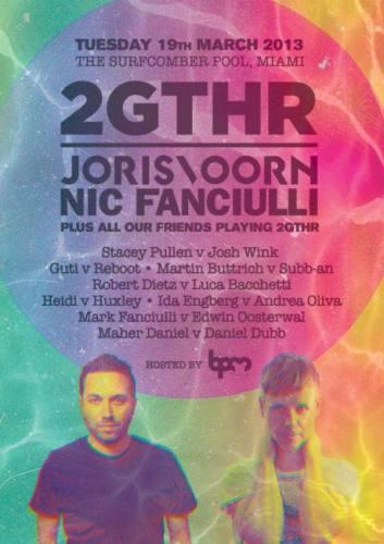 Joris Voorn, Nic Fanciulli & Friends @ Surfcomber Hotel