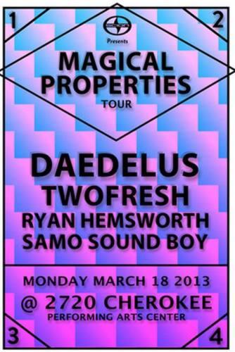 Daedelus & Two Fresh @ 2720 Cherokee