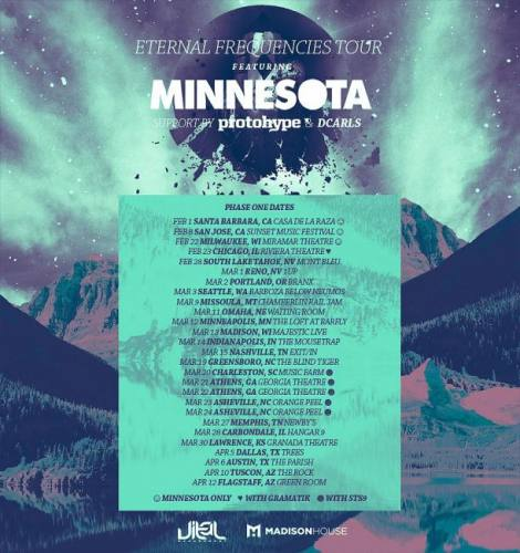 Minnesota w/ Protohype & DCarls @ Sidebar Theater