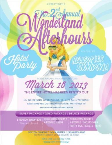 Beyond Wonderland Afterparty Hotel