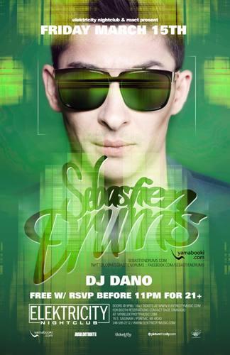 3.15 SEBASTIEN DRUMS | DJ DANO @ ELEKTRICITY