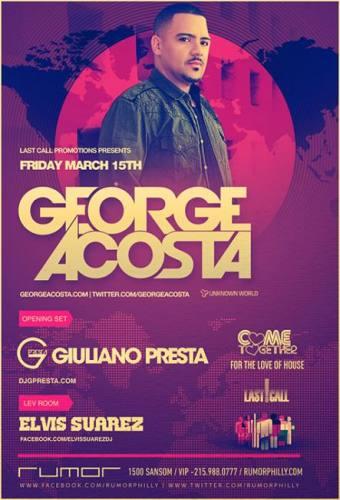 George Acosta @ Rumor