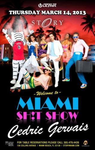 Cedric Gervais @ STORY Miami (03-14-2013)