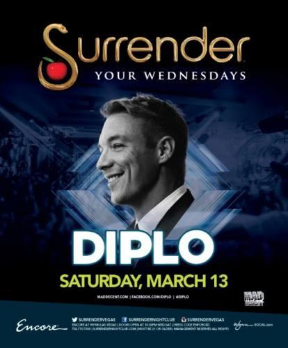 Diplo @ Surrender Nightclub (03-13-2013)