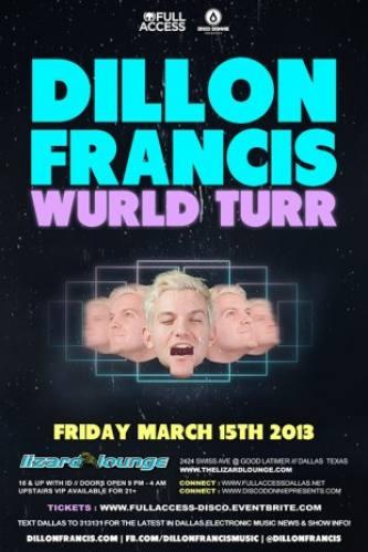 Dillon Francis @ Lizard Lounge (03-12-2013)