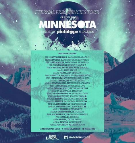 Minnesota w/ Protohype & DCarls @ The Loft at Barfly