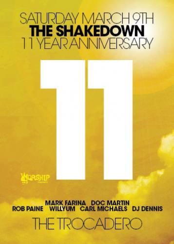 Shakedown 11 Year Anniversary
