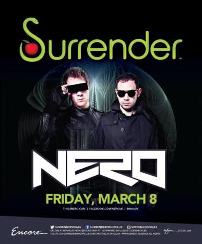 Nero @ Surrender Nightclub (03-08-2013)