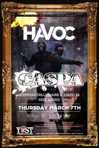 Caspa @ Yost Theater