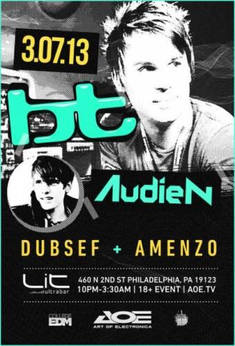 BT + Audien @ LiT UltraBar (03-07-2013)