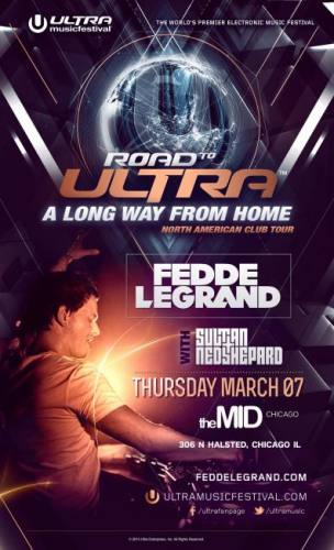 3.7 FEDDE LE GRAND - The Road to ULTRA @ The MID