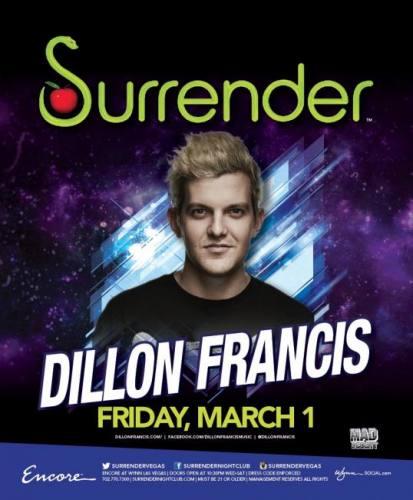 Dillon Francis @ Surrender Nightclub (03-01-2013)