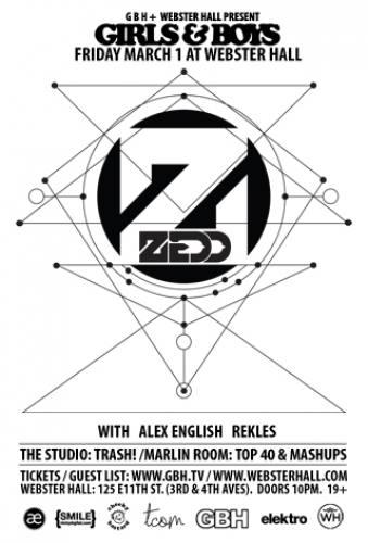 Zedd @ Webster Hall (03-01-2013)