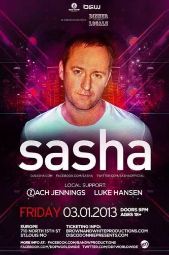 Sasha @ Europe