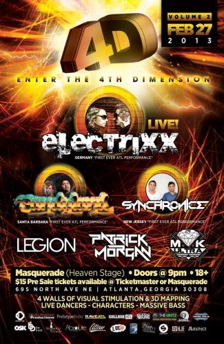4TH DIMENSION VOLUME 2: Electrixx, Candyland, Synchronice & More