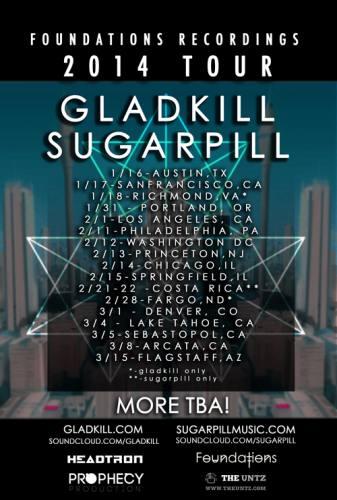 Gladkill & Sugarpill @ Bottom Lounge